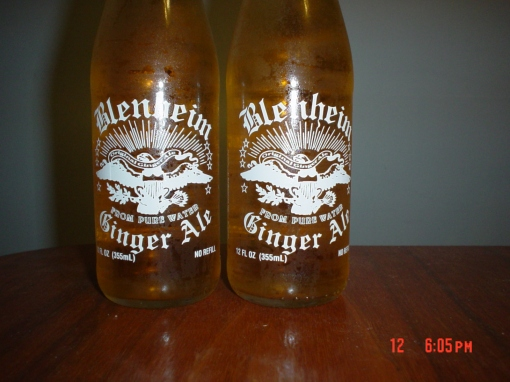 This ginger ale has some kick to it. Now if I could find the red cap version..