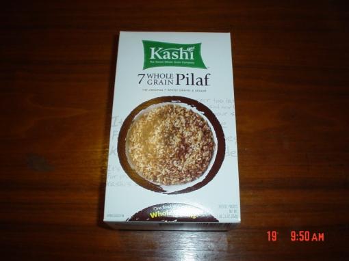 Kashi 7 grain pilaf.