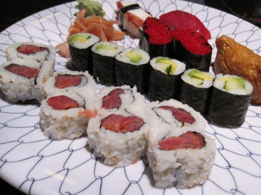 Rolls and nigiri from Sushi Avenue.
