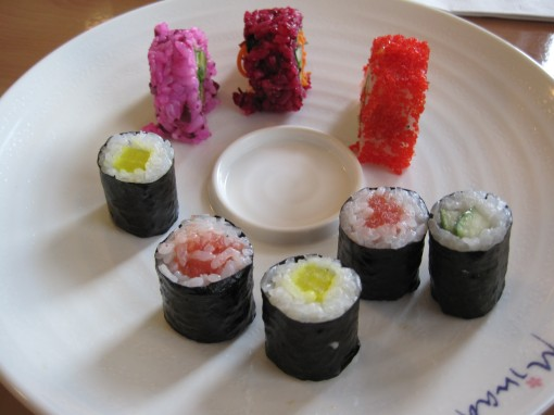 assorted rolls, plain and fancy.
