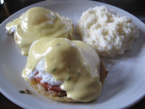 Eggs Benedict at Graft.
