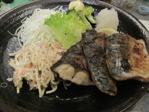 Grilled mackerel at Haru Ichiban.