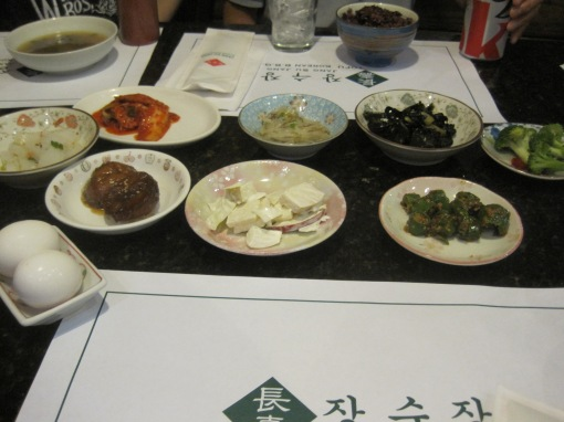 Banchan? As fresh as their reputation.